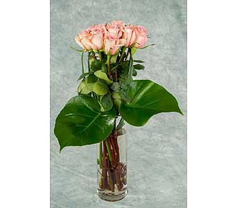 Antique Pink Roses in Great Neck NY, United Floral