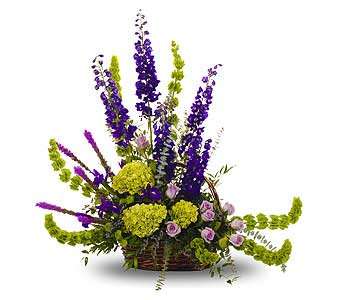 Bold Mix Springtime Basket in Dallas TX, In Bloom Flowers, Gifts and More