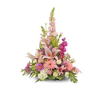 Traditional Mix Table Arrangement in Dallas TX, In Bloom Flowers, Gifts and More