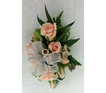 Rose Corsage in Branford CT, Myers Flower Shop