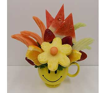 Happy Day Fruit Bouquet in Timmins ON, Timmins Flower Shop Inc.