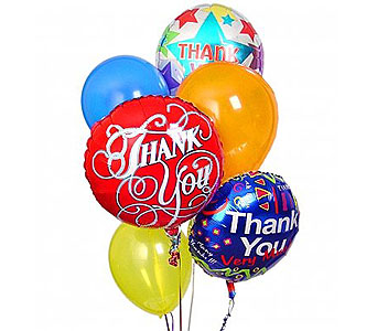 Thank You Balloon Bouquet in Rockville MD, Flower Gallery