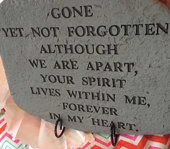 Sympathy Tribute Stones in Ambridge PA, Heritage Floral Shoppe