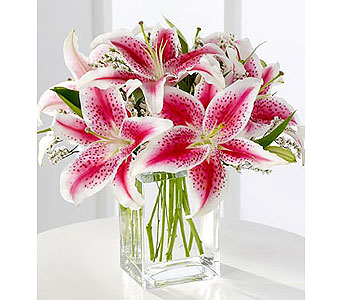 Pink Lily Bouquet in Yelm WA, Yelm Floral