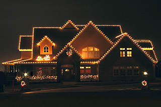 Holiday Lighting in Kennewick WA, Heritage Home Accents & Floral