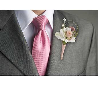 Call Me Darling Boutonniere in Dallas TX, In Bloom Flowers, Gifts and More