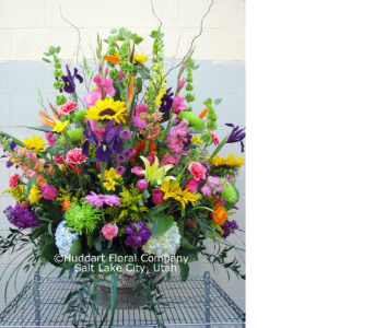 Huddart Spectacular Spring Arrangement in Salt Lake City UT, Huddart Floral