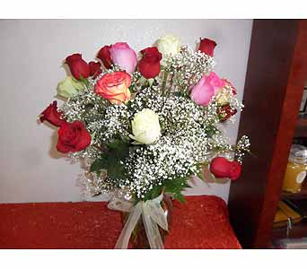 2 Dozen Mixed Roses in Henderson NV, Beautiful Bouquet Florist