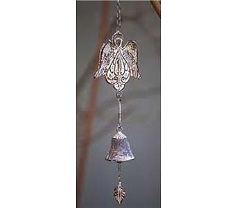 Angel Wing Ceramic Wind Chime Bell in Ambridge PA, Heritage Floral Shoppe