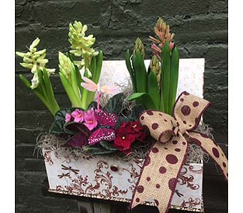 Blooming Keepsake Flower Box in Ambridge PA, Heritage Floral Shoppe