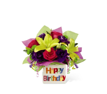 The Happy Birthday Bouquet by FTD� in Elk Grove Village IL, Berthold's Floral, Gift & Garden