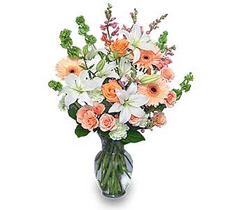 PEACHES & CREAM in Sayville NY, Sayville Flowers Inc