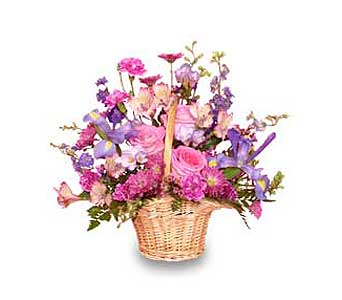 MAUVE-LOUS BOUQUET in Sayville NY, Sayville Flowers Inc