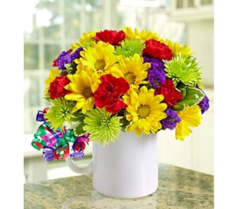 It's Your Day Bouquet� - Mugable� in Watertown CT, Agnew Florist