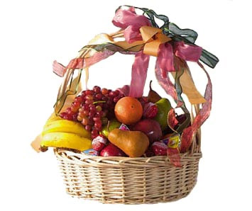 Medium Fruit Basket in McLean VA, MyFlorist
