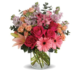 Make Her Blush in Norristown PA, Plaza Flowers