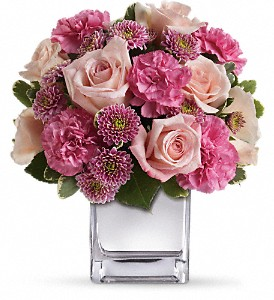 Teleflora's Treasure Her Bouquet in Chicago IL, La Salle Flowers