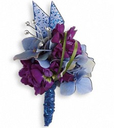 Feel the Beat Boutonniere in Perrysburg & Toledo OH  OH, Ken's Flower Shops
