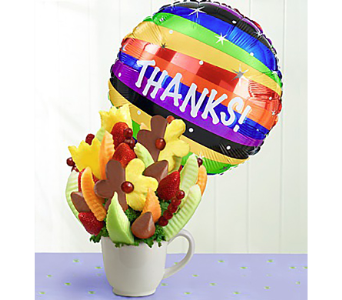 Many Thanks in Mount Morris MI, June's Floral Company & Fruit Bouquets