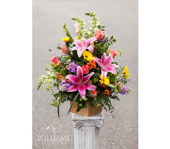 Spring Design Contest - MD21 in send WA, Flowers To Go, Inc.