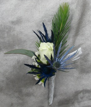 Mountain Madness Boutonniere in Crystal Lake IL, Countryside Flower Shop