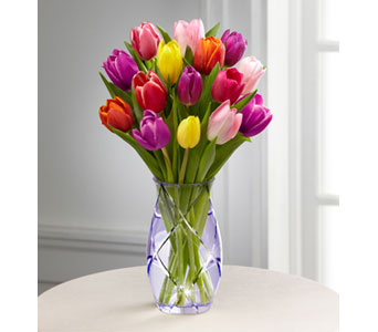 Spring Tulip Bouquet by Better Homes & Gardens in New York NY, CitiFloral Inc.
