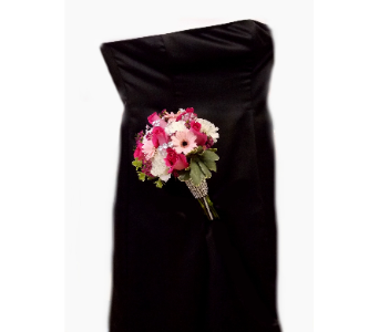 Black Dress - Handtied in East McKeesport PA, Lea's Floral Shop
