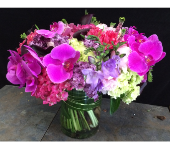 European hand tied in Wellington FL, Wellington Florist
