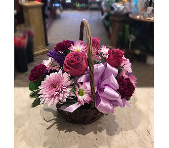 Lavender Classic Basket in Princeton, Plainsboro, & Trenton NJ, Monday Morning Flower and Balloon Co.