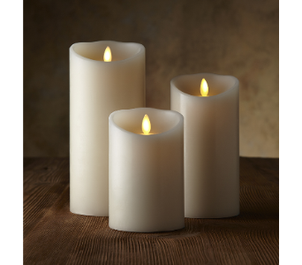Luminara Real Flame Effect Candle in Lockport NY, Gould's Flowers, Inc.