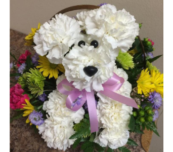 Puppy love in Melbourne FL, Paradise Beach Florist & Gifts