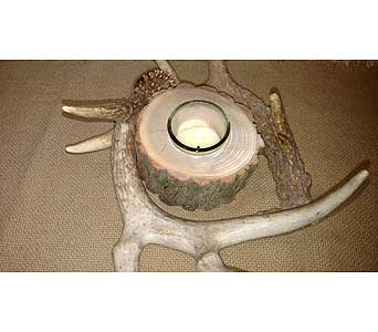 Deer Antler Votive Holder in Loudonville OH, Four Seasons Flowers & Gifts
