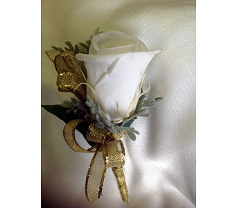 Single White Rose in Laurel MD, Rainbow Florist & Delectables, Inc.