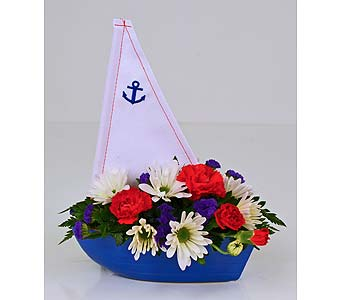Gone Sailing in Indianapolis IN, Gillespie Florists