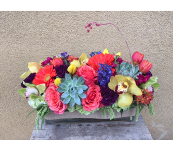 Custom Arrangement in Tustin CA, Saddleback Flower Shop