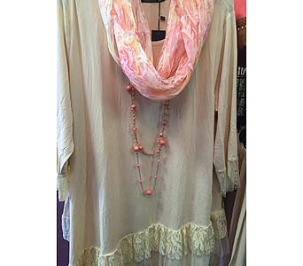Lace Layered Tunic in Kingsport TN, Gregory's Floral