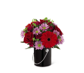 Color Your Night With Intrigue Bouquet in Chicago IL, La Salle Flowers