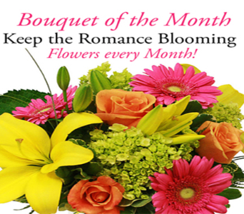 $55 Bouquet of the Month in Indianapolis IN, George Thomas Florist