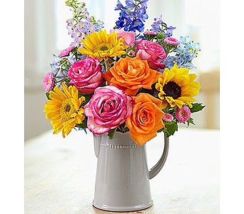 Country Garden Bouquet in Bradenton FL, Ms. Scarlett's Flowers & Gifts