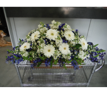 Casket Spray -01 in Frisco TX, Patti Ann's Flowers