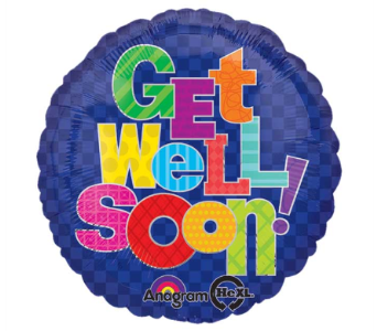 Get Well Mylar in Catoosa OK, Catoosa Flowers