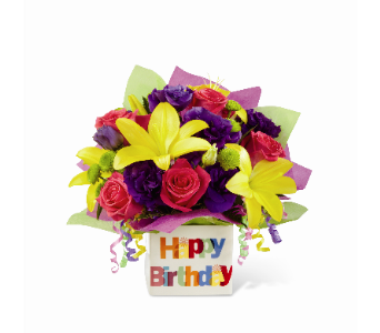 The FTD Happy Birthday Bouquet in Los Angeles CA, South-East Flowers