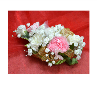 Carnation Corsage in Easton MD, Robin's Nest
