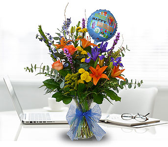 Birthday Blow Out in Dallas TX, In Bloom Flowers, Gifts and More