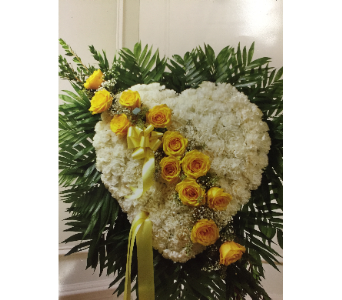 Solid heart in Staten Island NY, Evergreen Florist
