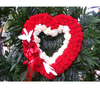 Open Heart in Staten Island NY, Evergreen Florist