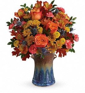 Teleflora's Classic Autumn Bouquet in Cairo NY, Karen's Flower Shoppe
