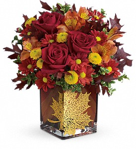 Teleflora's Maple Leaf Bouquet in Eugene OR, Rhythm & Blooms