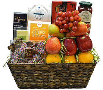 Fruit & Gourmet Basket in Richboro PA, Fireside Flowers
