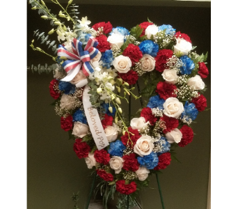OPEN HEART PATRIOTIC in Woodbridge NJ, Floral Expressions